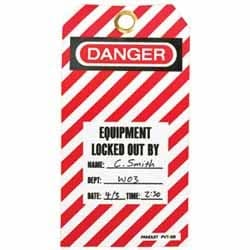 No-Tool Circuit Breaker Lockout Device, Red