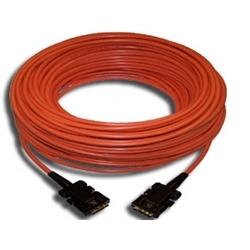 DVI-D (M) to DVI-D (M) Fiber/Copper Hybrid Cable - 66'