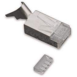 Sertir connecteur RJ45 Style pour 23 AWG torsadés câble paire (achat Minimum 10 X)