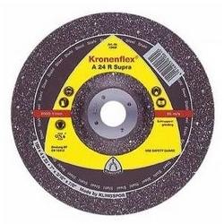 6MM X 115MM 24 GRIT ALUMINIUM OXIDE DISC - GRINDING - DEP   CNTR KLINGSPOR 13401