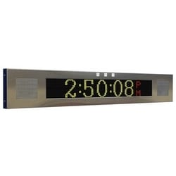 IP Clock Signboard With Flashers