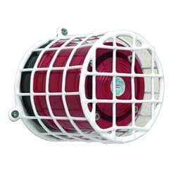 """Beacon & Sounder Cage, 95mm (3.75"""") H x 95mm (3.75"""") W x 88mm (3.5"""") D"""