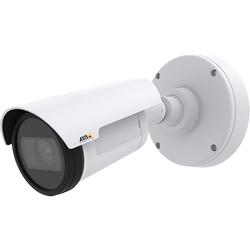 Caméra IP, compacte, prête pour l'extérieur, jour/nuit, cote Ip66, objectif à focale variable-2,8-9,8 Mm P-iris, WDR - contraste dynamique, éclairage IR jusqu'à 15M / 50pi