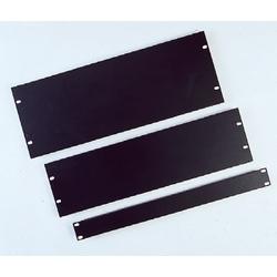 Panneau de remplissage, solide, 2Ru, acier, noir, comprend le matériel de montage