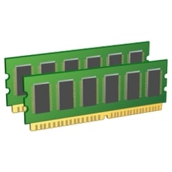 CR5-4U24 - mise à niveau de mémoire à 128 GB Total (CPU double seulement)