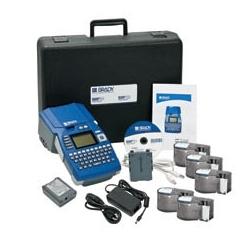 BMP51 Label Maker, adaptateur secteur, 300 DPI, transfert thermique et LabelMark 6 Standard