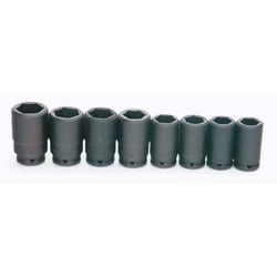 "3/4"" Drive Deep Impact Socket Set, 6-Point, 8 Piece"