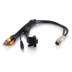 RapidRun HD15 RA +3.5+3 RCA Lead 1.5 ft.