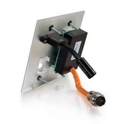 RapidRun Optical, Aluminum Wallplate HD15+3.5+3 RCA+1KS+HDMI