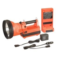 HID LiteBox Model, Standard System, 120V AC/12V DC, Includes Flood Lens, Orange