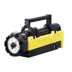Portable Scene Light Model, 120V AC/12V DC, Yellow