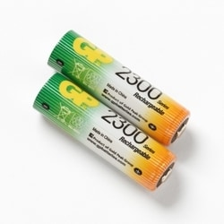 Replacement Battery set (2 NIMH AA) for FI-500