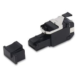 REVConnect 10GX Field Mount Plug, UTP, Metal, Bulk Pack