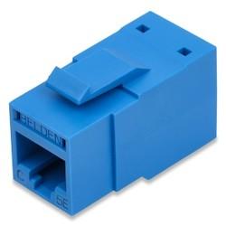 REVConnect Category 5E Modular Jack, T568 A/B, UTP, Blue, Single Pack