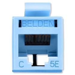 REVConnect catégorie 5E prise modulaire, T568 A / B, UTP, TIA bleue, Bulk Pack