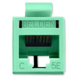 REVConnect catégorie 5E prise modulaire, T568 A / B, UTP, TIA verte, Bulk Pack