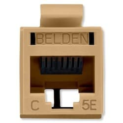 REVConnect catégorie 5E prise modulaire, T568 A / B, UTP, TIA brune, Single Pack