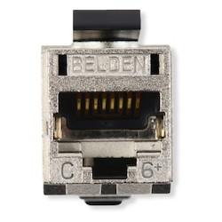 REVConnect catégorie 6 + prise modulaire, T568 A / B, STP, métal, Single Pack