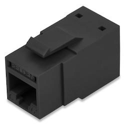 REVConnect catégorie 6 + prise modulaire, T568 A / B, UTP, noir, Single Pack