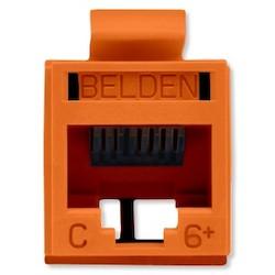 REVConnect catégorie 6 + prise modulaire, T568 A / B, UTP, Orange, Single Pack