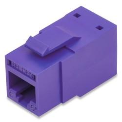 REVConnect catégorie 6 + prise modulaire, T568 A / B, UTP, Purple, Bulk Pack