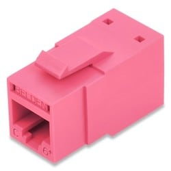 REVConnect catégorie 6 + prise modulaire, T568 A / B, UTP, TIA rouge, Single Pack