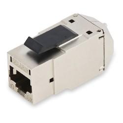 REVConnect 10GX prise modulaire, T568 A / B, STP, métal vrac Pack