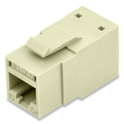 REVConnect 10GX prise modulaire, T568 A / B, UTP, amande, Bulk Pack