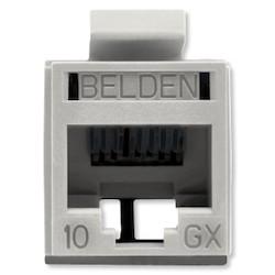 REVConnect 10GX prise modulaire, T568 A / B, UTP, Gray, Bulk Pack