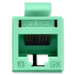 REVConnect 10GX prise modulaire, T568 A / B, UTP, TIA verte, Bulk Pack