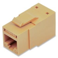 REVConnect 10GX prise modulaire, T568 A / B, UTP, TIA brune, Bulk Pack