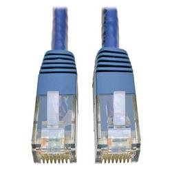 Cat6 Gigabit Molded Patch Cable (RJ45 M/M), Blue, 3 ft.