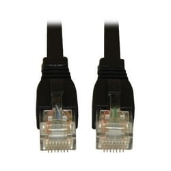 Augmented Cat6 (Cat6a) Snagless 10G Certified Patch Cable, (RJ45 M/M) - Black, 7-ft.