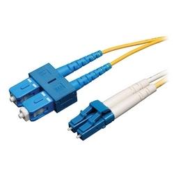 Duplex Single-mode 8.3/125 Fiber Patch Cable (LC/SC), 50 m (164 ft.)