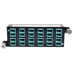 10GbE Pass-Through Cassette - (x12) LC Duplex