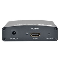 VGA with RCA Stereo Audio to HDMI Converter/Scaler