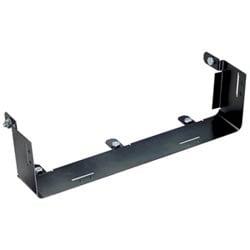 Fitting that transitions from ADC's 12x4 FiberGuide* System to 12x4 FiberRunner System. Fitting has a black finish and is made from metal. Attachment hardware is included.