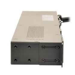 5/5.8kW Single-Phase 208/240V Basic PDU, 4 C19 Outlets, NEMA L6-30P Input, 12 ft. Cord, 1U Rack-Mount