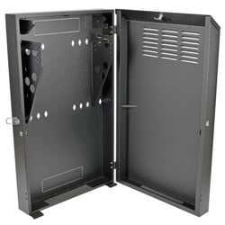Tripp Lite 4U Low-Profile Vertical-Mount Wall-Mount Rack Enclosure Cabinet, 43H x 26W x 8D