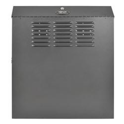 Tripp Lite 6U Low-Profile Vertical-Mount Wall-Mount Rack Enclosure Cabinet, 29H x 26W x 12D