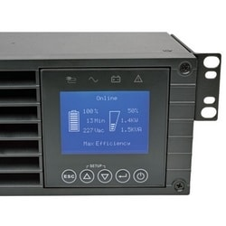 SmartOnline 208/240V 3kVA 2.7kW Double-Conversion UPS, 2U, Extended Run, Network Card Slot, LCD, USB, DB9, ENERGY STAR
