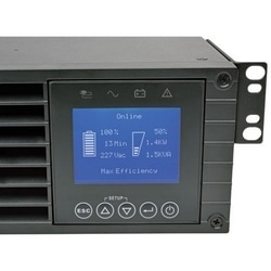 SmartOnline 208/230V 3kVA 2.7kW Double-Conversion UPS, 2U Rack/Tower, Extended Run, Network Card Slot, LCD, USB, DB9, ENERGY STAR