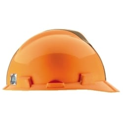 NFL Hard Hat Protective Cap, Cleveland Browns, V-Guard, 1-Touch, Polyethylene Shell Material, ANSI/ISEA Z89.1-2014 (Class E), CSA Z94.1-2005 (Class E)