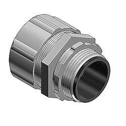 4 Inch Straight Steel Insulated Liquidtight High Temperature Connector