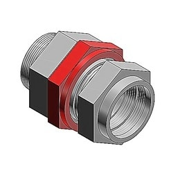 Star Teck XP hazardous location aluminum jacketed cable fitting hub size 4 inches Range over jacket 3.810-4.030 inches.