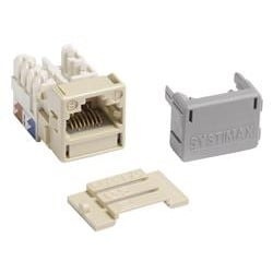 GigaSPEED XL MGS400 Series Category 6 U/UTP Information Outlet, Ivory