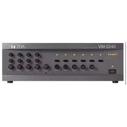 PA System Management Amplifier, 120 Watt, 220 to 230 Volt AC, 24 Volt DC, 50 Hertz to 16 Kilohertz, 5 Zone, ABS Plastic Resin Panel, Painted Steel Plated Case