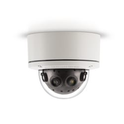 20 MP jour/nuit H.264/MJPEG 180 Gen 5 caméra, 10240 x 1920, 4 x 6,7 mm lentille de MP, Small Form Factor, Surface mount, intérieur/extérieur, IP66, IK-10, 18 et 48 V DC/24 V AC/PoE, PoE Powered Fan