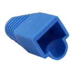 RJ45 Boot, 6.0 mm Max OD, Blue, 25/Bag