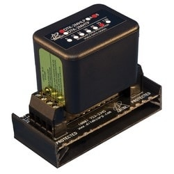 Field Replaceable Suppression Module with Hardwired Base - 2 Pair, 75V
